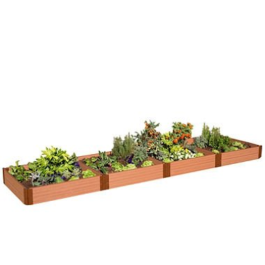 Amazon.com: Frame It All Classic Sienna Raised Vegetable or Flower ...