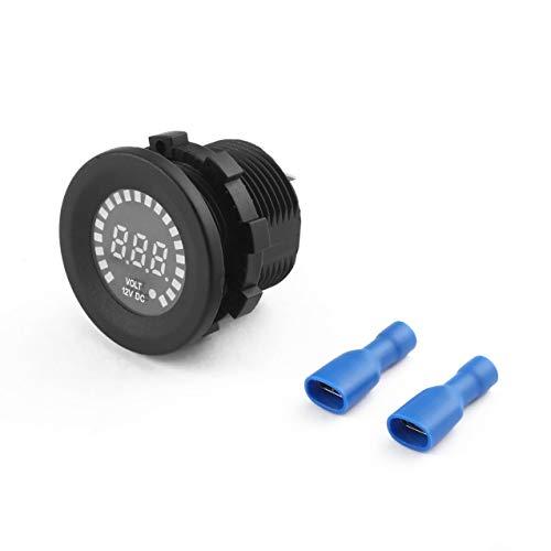 Chaleur De Pour Moto LED Résistant Numérique Bleu Voltmètre La L'eau Voltmètre À Panneau Imperméable À LED Voiture La De D'affichage qxqUBFwPf