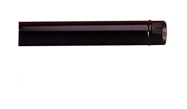 EXOJO - Tubo Estufa Vitrificado Negro Exojo 150X0,6 Mm: Amazon.es: Bricolaje y herramientas