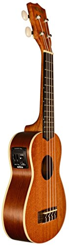 Kala KA-SE Acoustic/Electric Soprano Ukulele by Kala