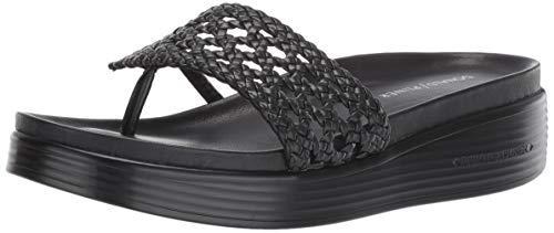 Donald J Pliner Women's FIFI20-08 Platform Black 10 B US (Donald J Pliner Black Sandals)