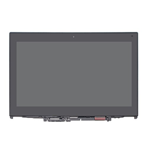 LCDOLED 12.5 inch HD 1366x768 IPS LED LCD Display Touch Screen Digitizer Assembly + Bezel for Lenovo ThinkPad Yoga 260 20FD0000US 20FD0001US 20FD002DUS 20FD002JUS