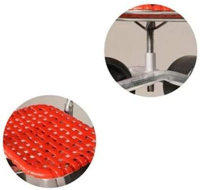 for Weeding//Gardening//Outdoor Lawn Care Garden Working Stool with Handheld backrest FMXYMC Garden Cart Rolling Scooter with Seat Farming Sliding Seat
