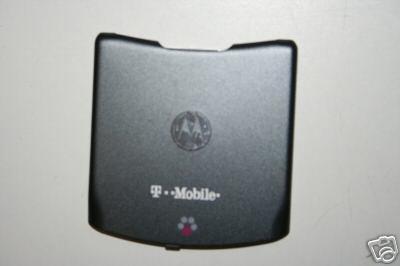 Motorola Razr V3 Pearl Grey Back Cover Battery Door