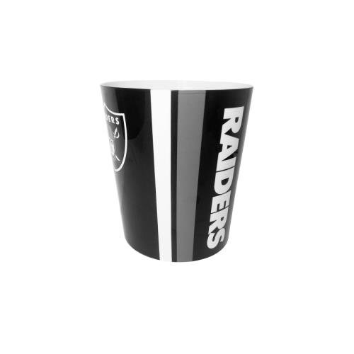Oakland Raiders NFL 10 Bath Waste Basket (Wastebasket Raiders)