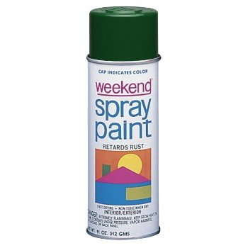 Weekend Spray Paint (Krylon Weekend 03495 Forest Green Paint - 16 oz Aerosol Can - K349 [PRICE is per CAN])