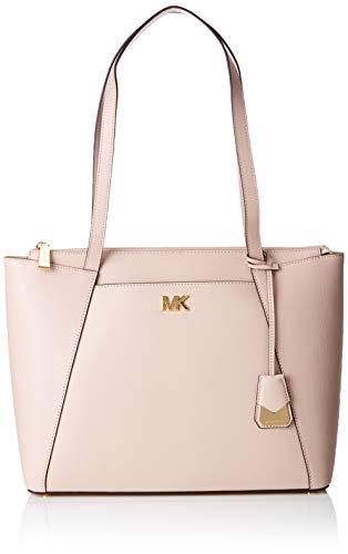 Pink Soft Handbag - Michael Michael Kors Maddie Medium Leather Tote - Soft Pink