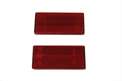 V-Twin Manufacturing Replacement Rear Reflectors 33-0016