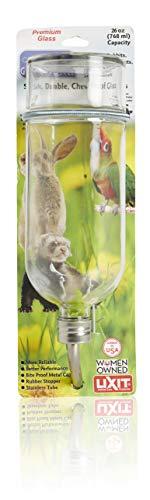 - Lixit Chew Proof Glass Bottle, 26 Oz