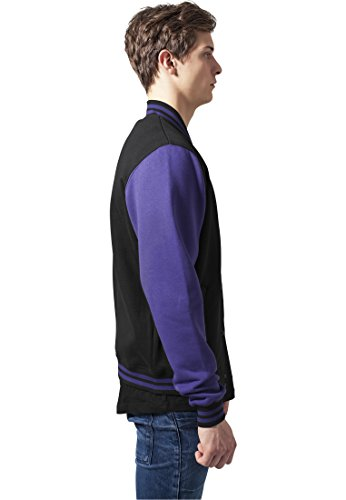 Classics Urban Black Homme tone College 2 Sweatjacket purple Blouson htCsQxordB