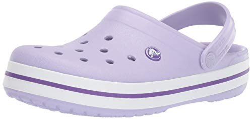 Crocs Crocband Clog, Lavender/Purple, 9 US Men/ 11 US Women M US