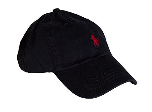 Ralph Lauren Boy's Classic Sport Cap, Black, One Size