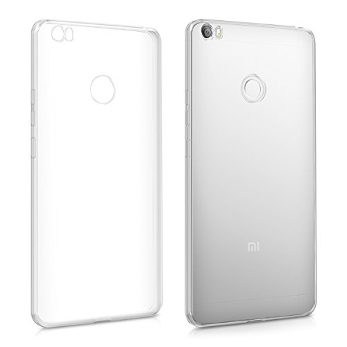 Silicone Soft Case for Xiaomi Mi Max (Clear) - 5