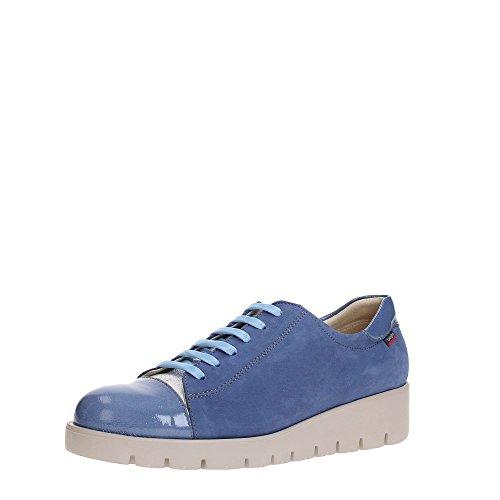 Callaghan 89815, Zapatos de Cordones Derby para Mujer Azul