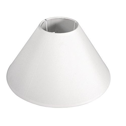 Efn Lamp - Rayher Lampshade, Round, Conic, 19 cm, White