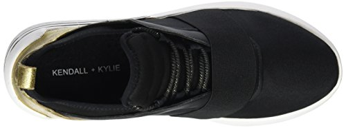 Kendall Multicolore Multi Kkbraydin3 Fabric Kylie Femme Black Basses and Sneakers TT6qw