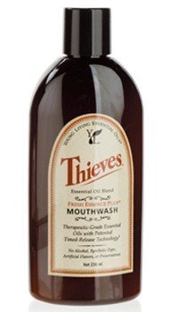 Thieves Fresh Essence Plus Mouthwash v.3  8oz. by Young Living Essential Oils