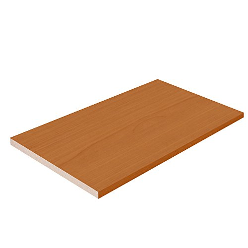 Closet Shelves Melamine - Bartlett Color - 10'' D x 35'' W - Choose Your Size by TFKitchen