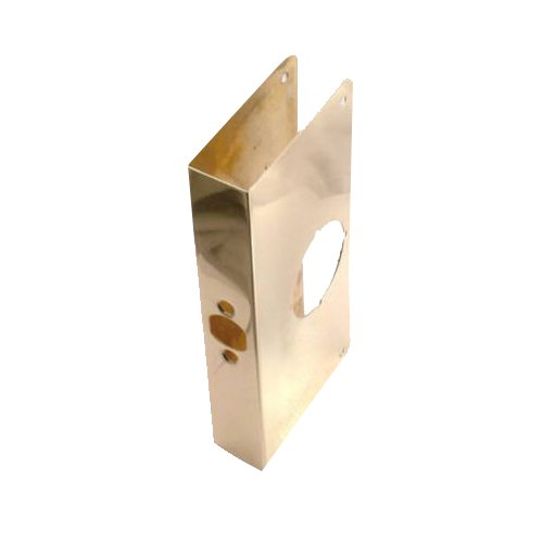 Belwith Products 2001-PB Door Reinforcer, 9-Inch, Polished Brass ()