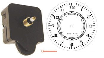 TIME & TIDE CLOCK MOVEMENT (W/HANDS) - 10 PACK