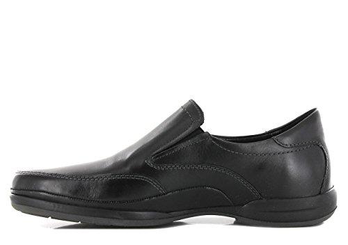 Mephisto Robin Steve 2600 - Zapatillas de casa de Cuero Hombre negro