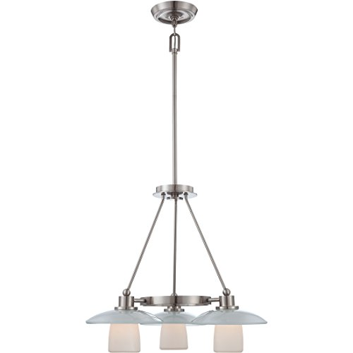 Quoizel UPTV5103BN Uptown Tribeca Living 3 Light Contemporary Downlight Chandelier - Tribeca 6 Light Chandelier