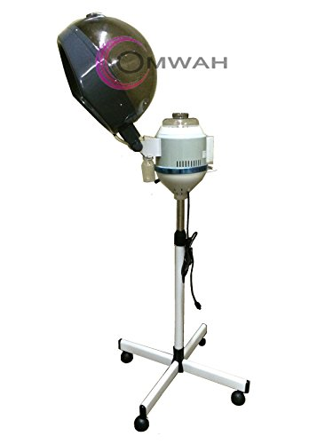 Professional Salon Hair Steamer with Rolling Floor Stand Base By Omwah by OMWAH