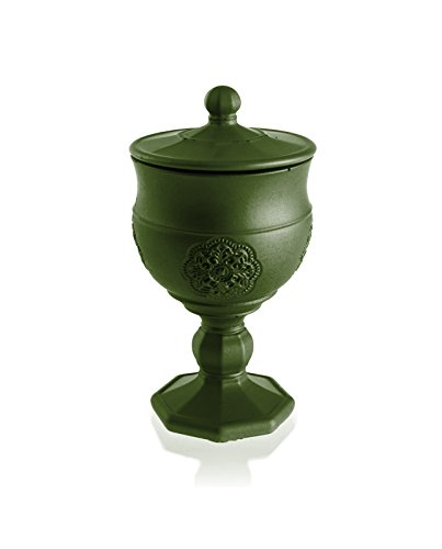 Lavender Hill Graal Dark Green Scent Candellana Candles Candlefort Concrete Candle