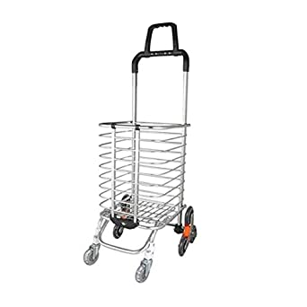43395055de17 Amazon.com: Lovinland Floding Shopping Cart Grocery Cart Trolley ...