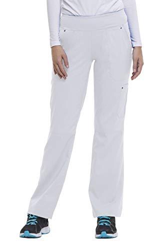 healing hands Purple Label Yoga Women's Tori 9133 5 Pocket Knit Waist Pant White- 2X-Large ()