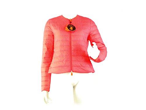 Donna C4548 Corallo Woman The Giubbotto Rosa Duck Save Jacket THUOHfp