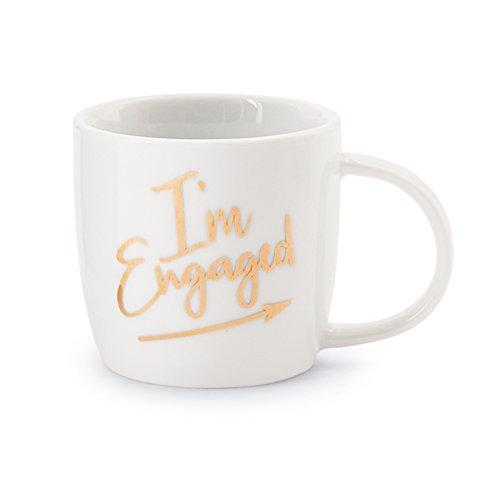 Engagement Mug - Mud Pie I'm Engaged Wedding Announcement Mug