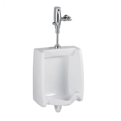 - American Standard 6590.525.020 Washbrook 0.125 GPF Urinal with Selectronic Flush Valve, White