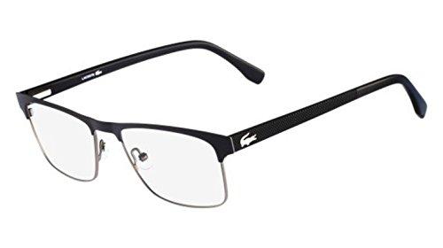 New Lacoste Men's Eyeglasses L2198 001 5518 55 MM Glasses