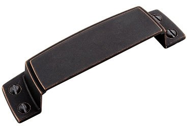 Amerock Highland Ridge 3-1/2 in. (89mm) Drawer Pull Dark Oiled Bronze - BP55318DOB (Highland Ridge Cabinet)