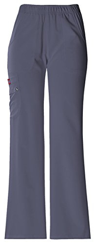 Dickies Women's Mid Rise Pull-On Cargo Pant_Lt. (Dickies Twill Jeans)