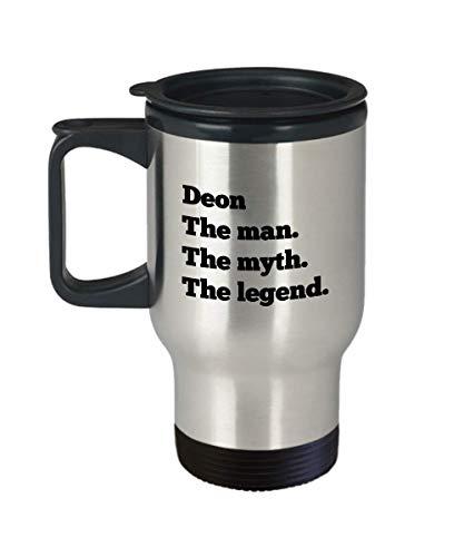 Deon Travel Mug Coffee Tea Cup Mens Custom Personalized Name Gift