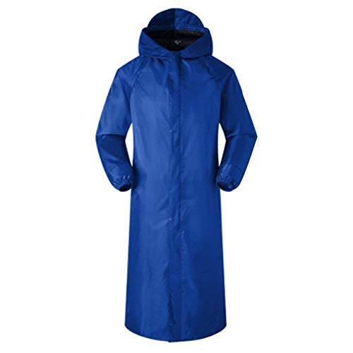 Raincoat Waterproof Poncho The Blue Fashion Wide Coat 2 Pengfei Female Climb Windbreaker Classiche Raincoats Donne To Ride Laisla Royal wIBg1A