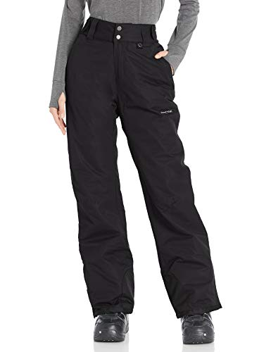 Arctix Women's Insulated Snow Pants, Black, 2X/Regular
