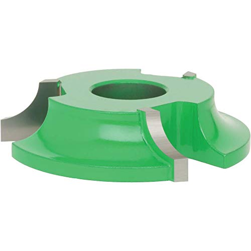 - Grizzly C2060 Shaper Cutter, 3/8-Inch Radius Quarter Round, 3/4-Inch Bore