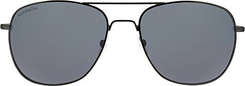 Rockwell Time Torino Sunglasses, Black/Smoke - Sunglasses Rockwell
