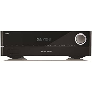 Harman Kardon AVR 1610 5.1-Channel 85-Watt Roku Ready Networked Audio/Video Receiver