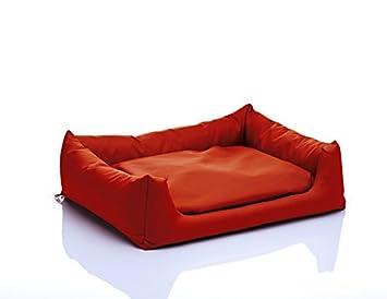 Artur Soja Pola Perro Cama, tamaño XL 90 x 120 cm, diseño de Flor, Color Naranja nº 09: Amazon.es: Productos para mascotas