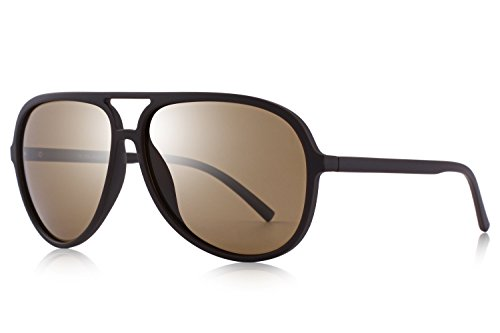 OLIEYE Polarized Sunglasses for Women Men Lighter Frame Vintage Pilot Sunglasses with Case O8510 (Pilot Sunglasses For Women)