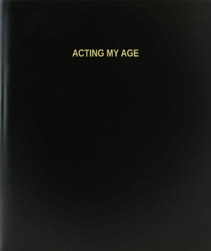 BookFactory Acting My Age Log Book / Journal / Logbook - 120 Page, 8.5