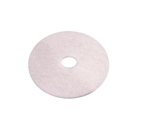 e-line Floorpads 02.01.01.0020 Polyester Thin Line Pad 508 mm Durchmesser weiß (10 Stück)