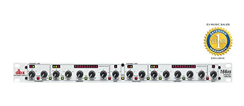 dbx 166xs Compressor / Limiter / Gate with 1 Year Free Extended Warranty by DBX