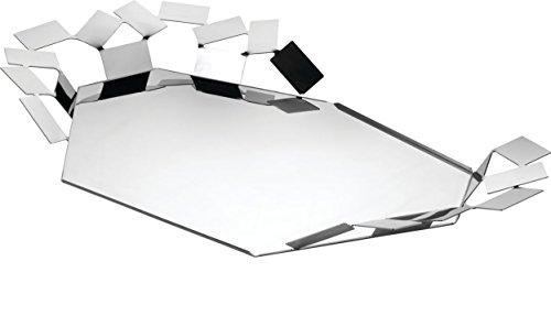 (Alessi MT07 Decorative Tray, Silver)