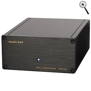 Music Hall PA1.2 MM/MC Phono Pre Amp by Music Hall