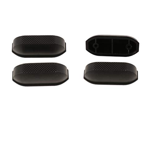 Almencla 4 Pieces Universal Luggage Footstand Bottom Studs, Luggage Replacement Parts Feet for All Suitcases